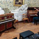 Préparation de pianos au Domaine Royal de Randan (63) - Septembre 2019